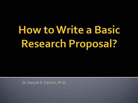 Social Research Proposal Definition, Format, Example